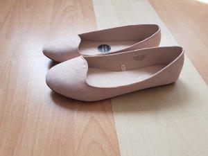Rosafarbene Ballerinas