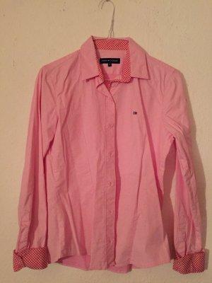 Rosafarbene Bluse Hilfiger
