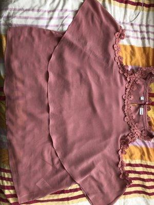 b.p.c. Bonprix Collection Blusa senza maniche rosa