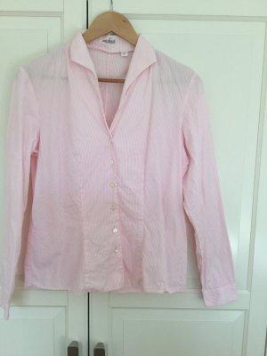 Rosafarbene Bluse von Van Laack mit Kelchkragen