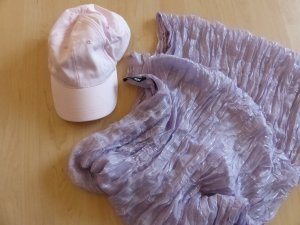 H&M Baseball Cap light pink-mauve