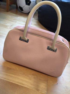 Rosafarbene Handtasche Von Lacoste