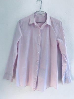 Rosafarbene Hemdbluse, sportlich, Elegant, Business Gr. 36,38, von Seidensticker