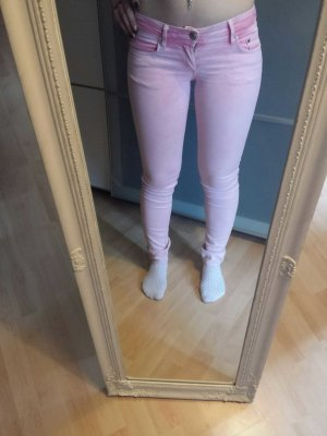 Rosafarbene Jeans von H&M