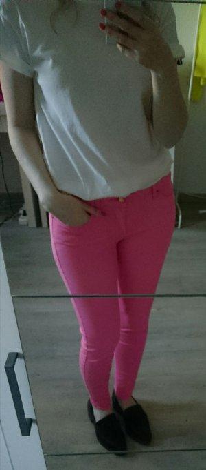 Rosafarbene Jeans Zara