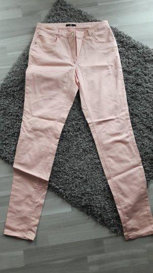 rosafarbene Röhrenhose von H&m