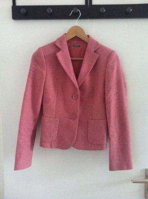 Rosafarbener Blazer der Marke Benetton