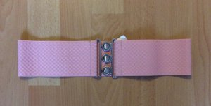 Pieces Belt light pink polyester