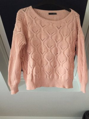 Atmosphere Crewneck Sweater rose-gold-coloured cotton
