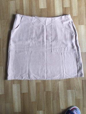 High Waist Skirt dusky pink