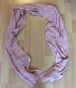 rosafarbener Schal von H&M