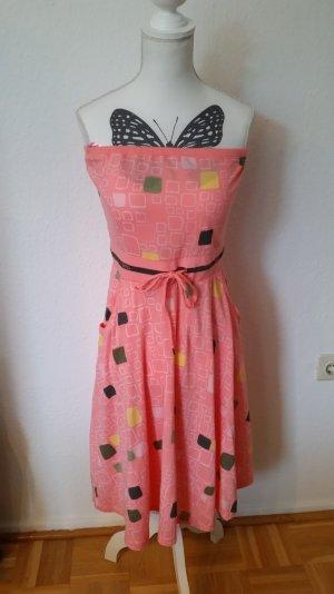 Rosafarbenes Bandeau-Kleid von Diesel