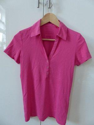rosafarbenes Poloshirt