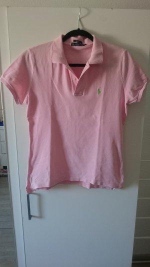 Rosafarbenes Poloshirt Ralph Lauren