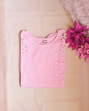 Rosafarbenes Sweatshirt