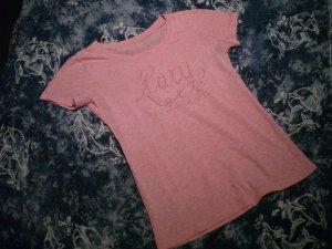 Rosafarbenes T-Shirt von Roxy