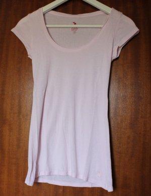 rosafarbenes T-Shirt von Tally Weijl