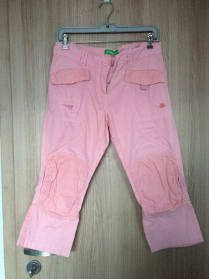 Rosafarbige Dreiviertelhose der Marke Kenvelo Größe M