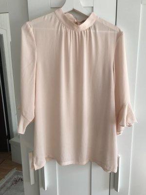 H&M Ruffled Blouse pink