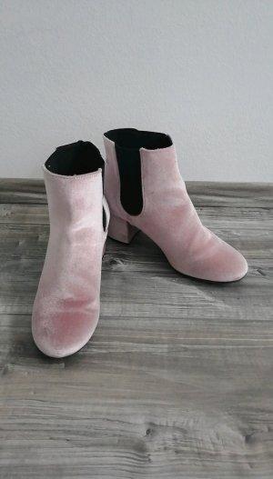 Tally Weijl Slip-on Booties black-light pink