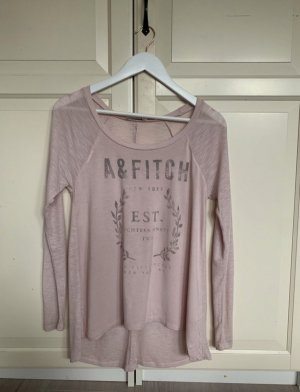Abercrombie & Fitch Lang shirt lichtroze