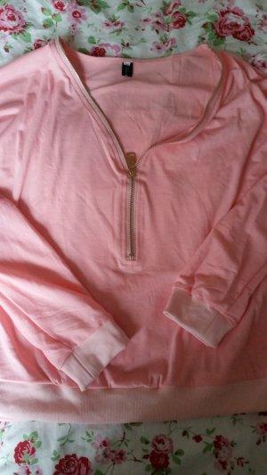 Rosanes Oberteil mit Zipper