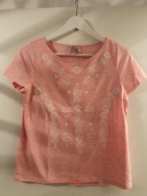 Rosanes T-Shirt bedruckt