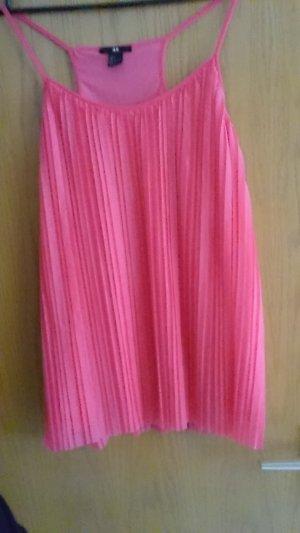 H&M Spaghettibandtopje roze