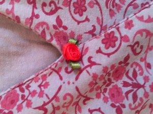 rosaröschen blümchenkleid