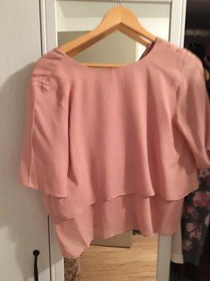 Mango Short Sleeved Blouse multicolored