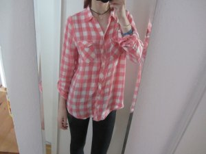 Abercrombie & Fitch Formal Shirt white-pink