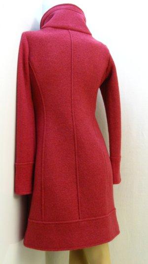 Cappotto in lana rosso lampone Lana
