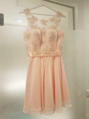 Rosé Cocktail Kleid