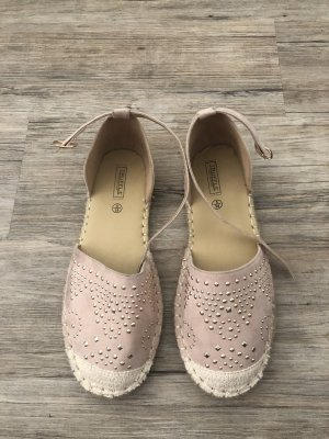 Truffle Espadrille Sandals rose-gold-coloured-gold-colored