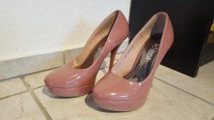 Rose farbende High Heels Gr. 39 13cm