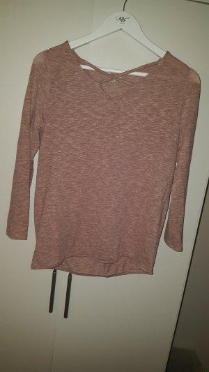 Rose farbendes Sweatshirt