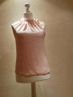 rosè farbene, ärmellose Bluse