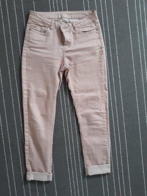 rose farbene Jeans slim