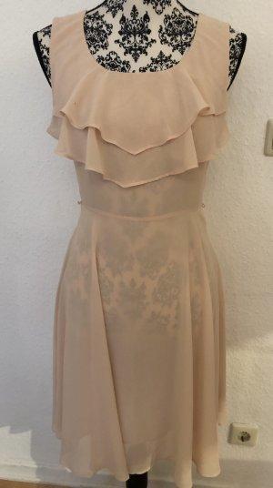 Rosé farbenes kleid