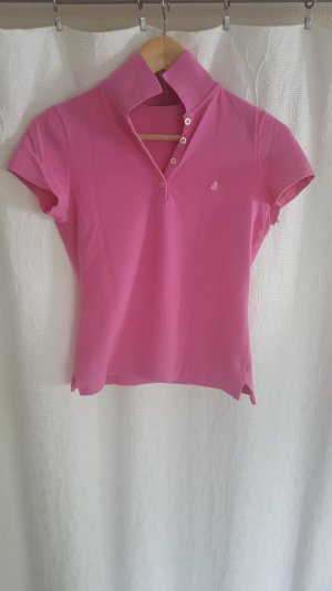Rose farbenes Polo-Shirt