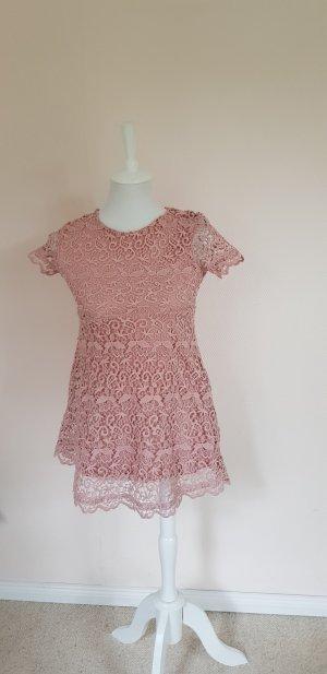 rosé farbenes Sommerkleid für Mädchen