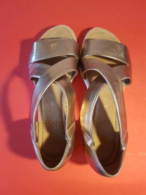 Rosè-Goldene Gabor Sandale