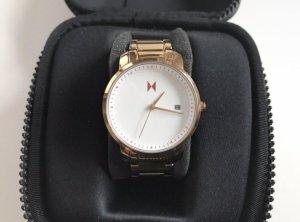 Róse- Goldene Uhr von MVMT
