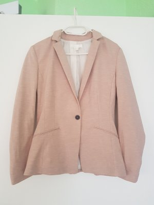 HM Sweat Blazer cream-pink