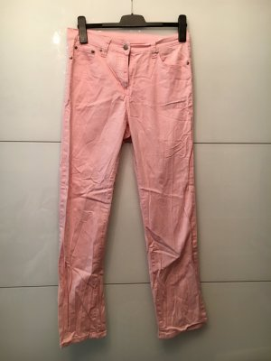 Jeans large rose clair