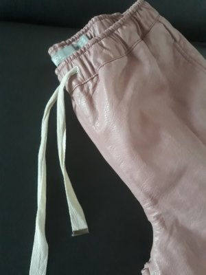 Asos Leather Trousers dusky pink