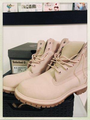Rosé nude Timberland Boots
