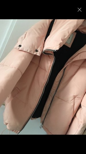 Rose Oversized winterjacke neu