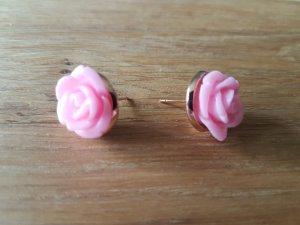 Oorstekers roségoud-roze