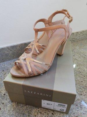 Rosé Sandaletten von Lazzarini